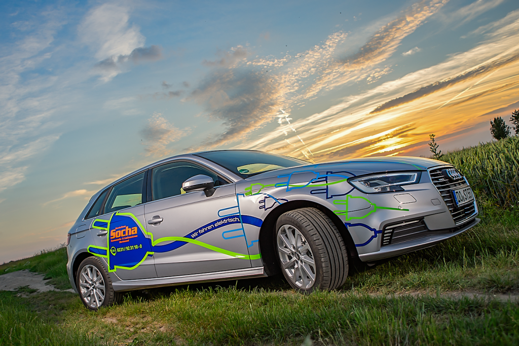 Elektro Hybrid Fahrzeug