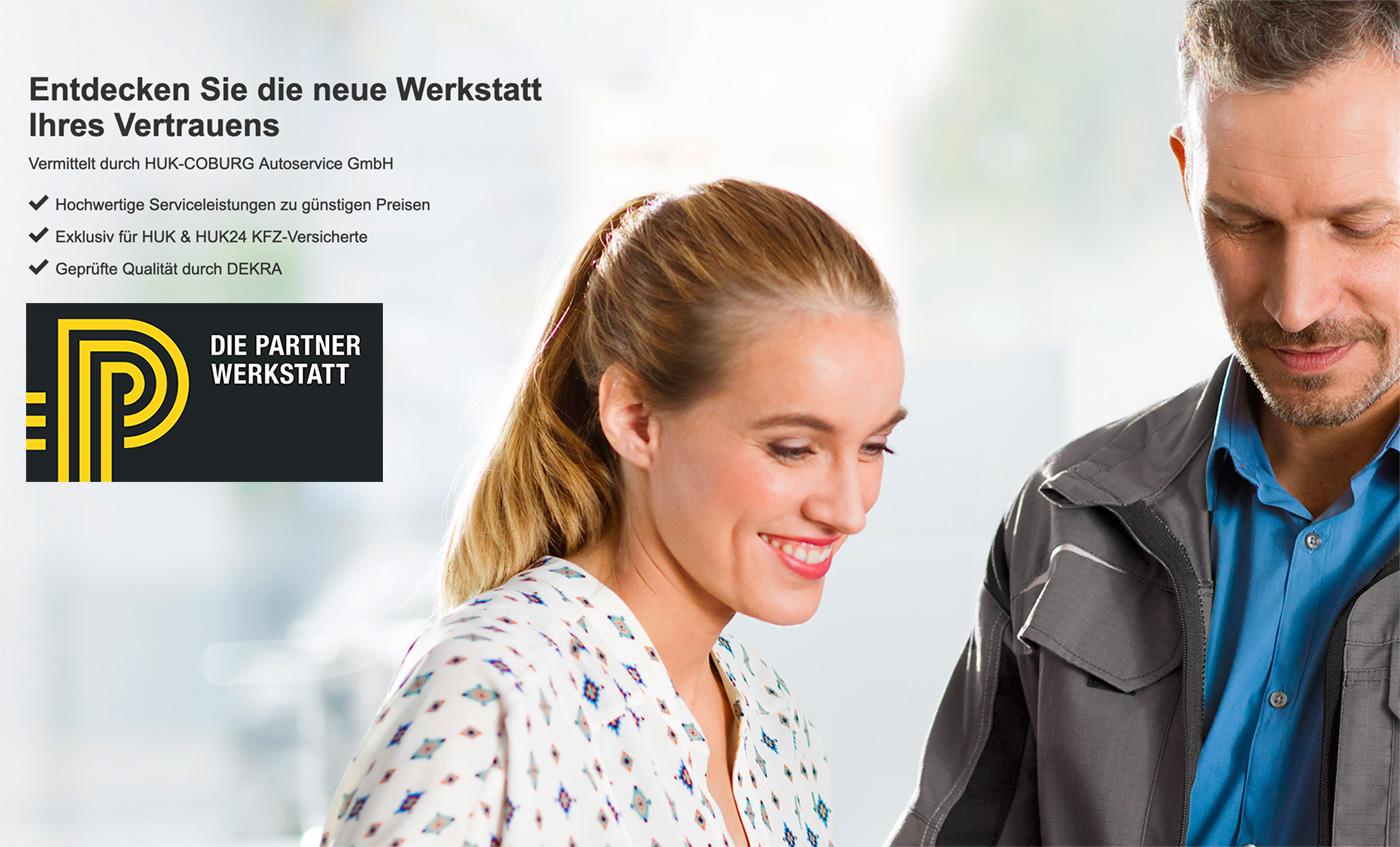 Kfz Service Wir Sind Partner Werkstatt Der Huk Coburg