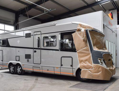 Wohnmobil und Caravan Lackierung